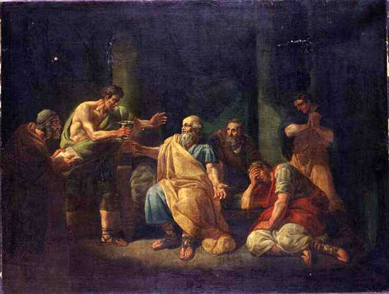 the death of socrates by jacques-louis david essay Jacques-louis david: the death of socrates click on the picture to see an enlarged version oil on canvas, 51 x 77 1/4 1787 metropolitan museum of art at.