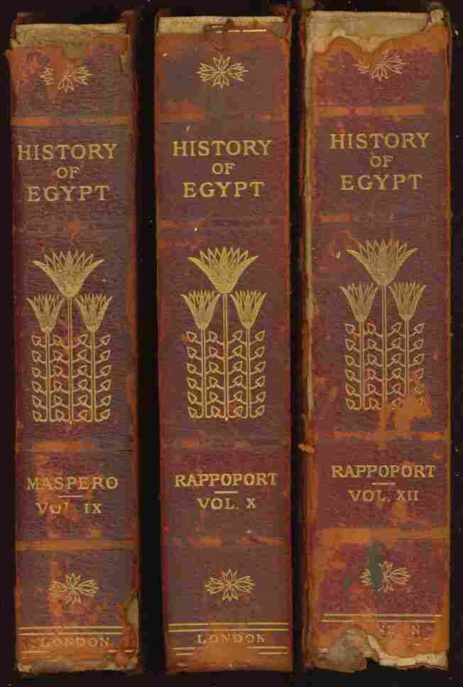 History Of Egypt From 330 B C To The Present Time Volume