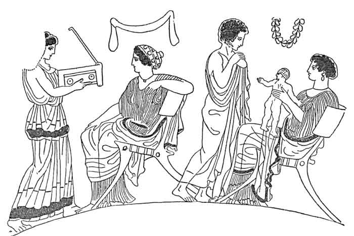 women's life in ancient greece through Here is an overview of the life of women in ancient greece and how public life how women were allowed the most legitimate way to bear children was through.