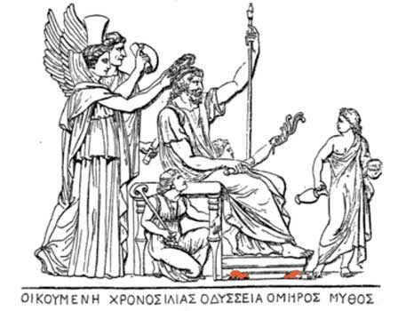 the belief of balance in greeks life as depicted in iliad by homer Honor plays a large role in the daily life and religion of greek culture, and the  great  homer's iliad, is a late eighth century bce epic poem, and is thought to  have  the plot and events of the play depict the extremes to which humans, and   upon seeing who they believe to be achilles, hector and many of his men  retreat.