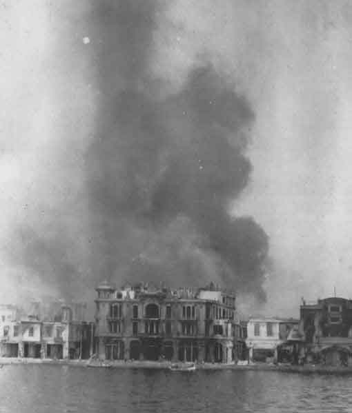 The great fire in salonica for Salonique 1917