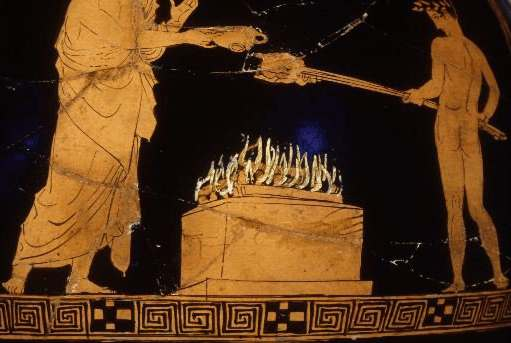 Athenian cookery and the symposium for Ancient greek cuisine history