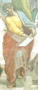 Outline of raphael the school of athens