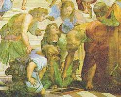 Who painted the school of athens