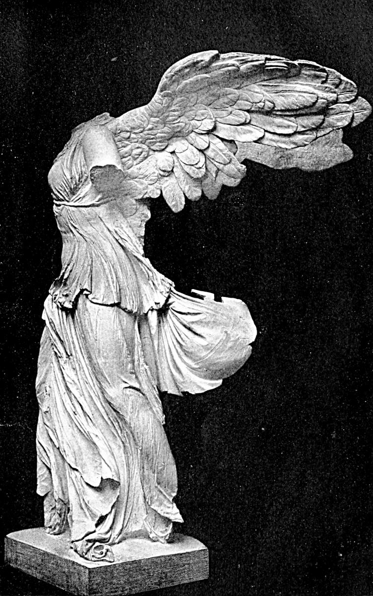 Greek sculpture estelle m hurll nike the winged victory the louvre paris neurdein frres biocorpaavc