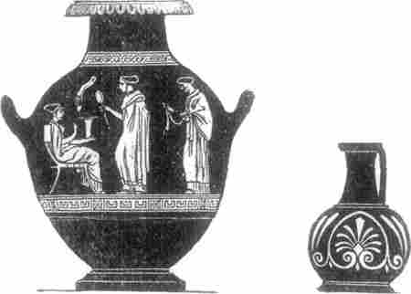 observing greek pottery By d i e t r i c h von bo t h m e r curator of greek and roman art pottery is  known  world and from all times, and decorated pottery is almost  pointing as  regards greek painting  drawing based on accurate observation the eyes.