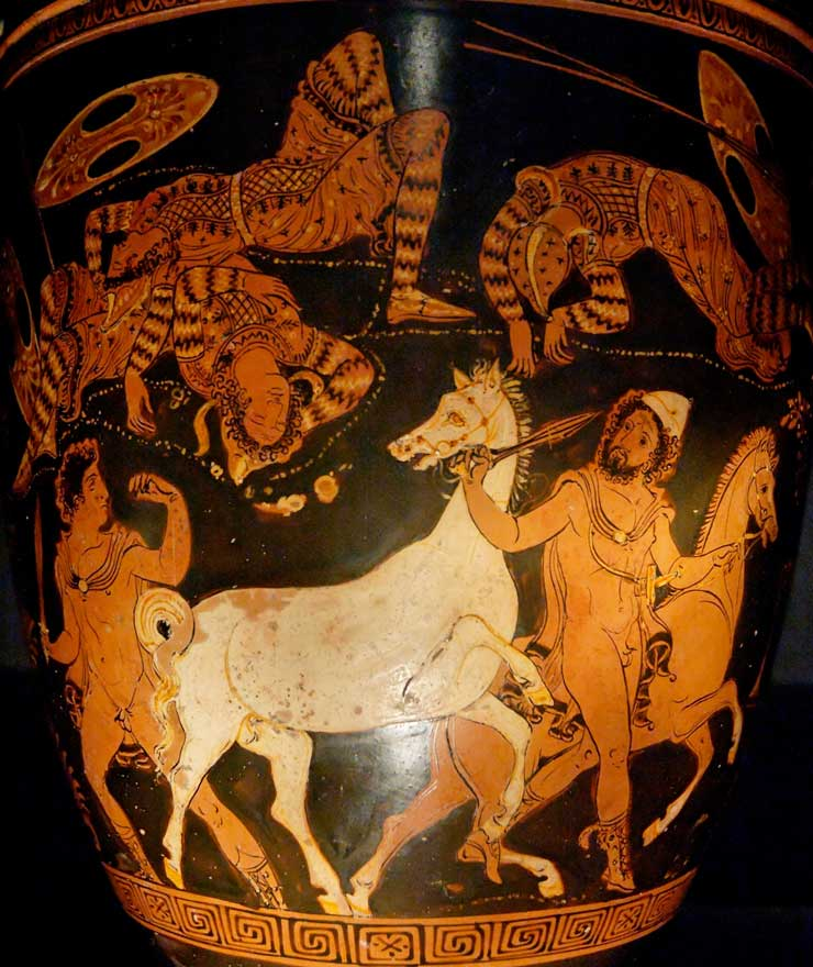 greek compettion in illiad In homer's epic, the odyssey, various aspects of the ancient greeks are revealed also, the greeks loved competition, proven by the fact that they urged on.