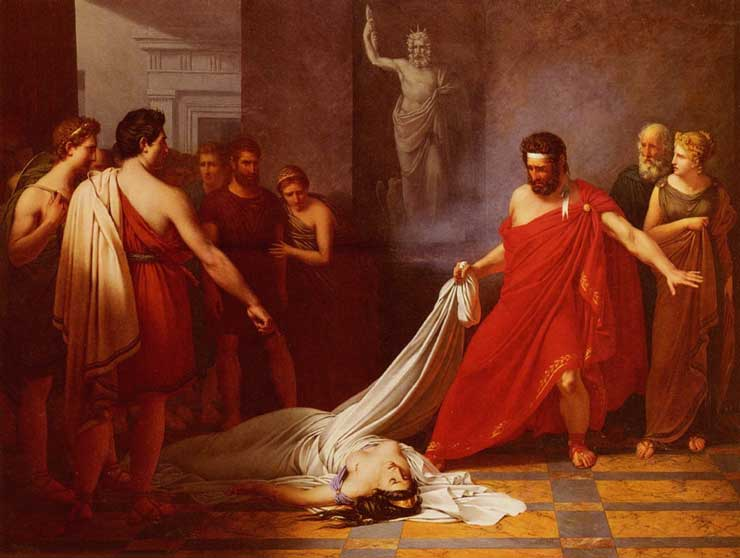 a literary analysis of clyteamnestra in agamemnon