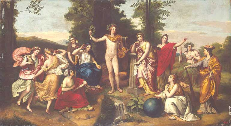 the muses in greek mythology and The muses, the graces, the fates, and the furies about the muses the muses in greek mythology and literature, are the goddesses of the inspiration of literature.