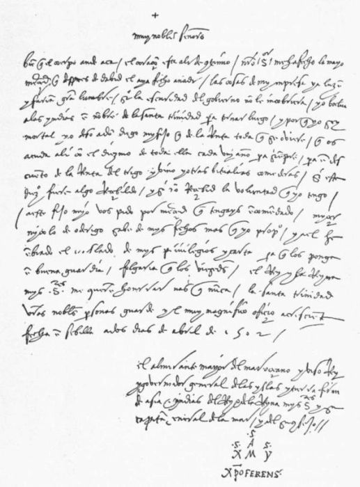 letter to ferdinand and isabella from columbus Letters to ferdinand and isabella charles so english 48a journal for columbus author quote:  in christopher columbus's letter of the first voyage, he writes to .