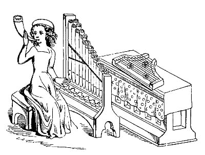 LADY MUSICIAN OF THE 15TH CENTURY
