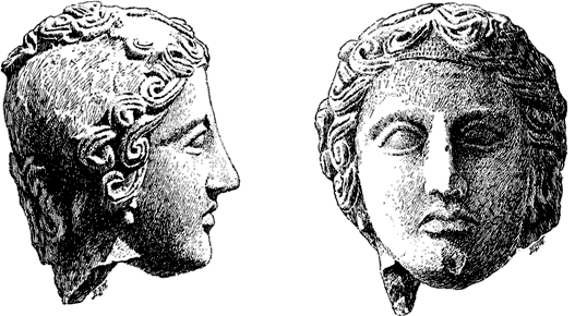Votive Head.