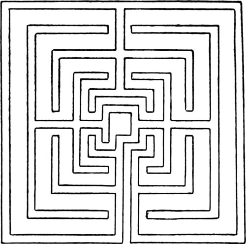 Mazes and Labyrinths by W. H. Matthews on