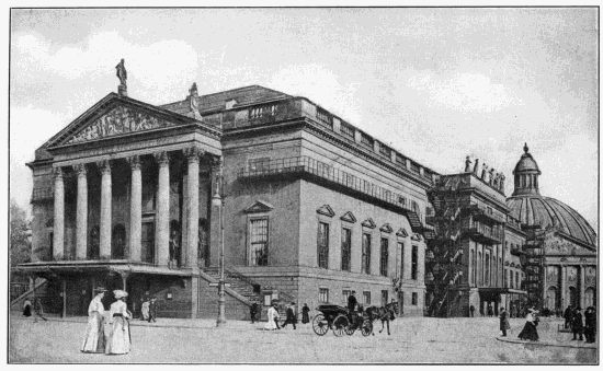 The royal opera house berlin
