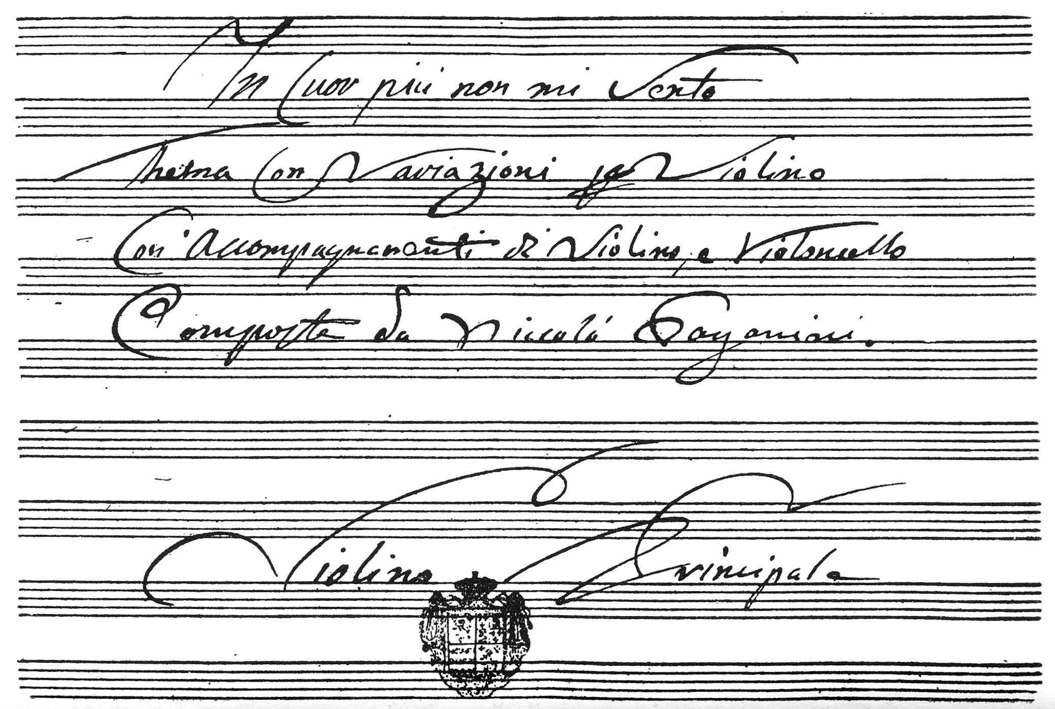 Nicolo paganini his life and work stephen samuel stratton plate 25 see appendix musical manuscript by paganini fandeluxe Choice Image