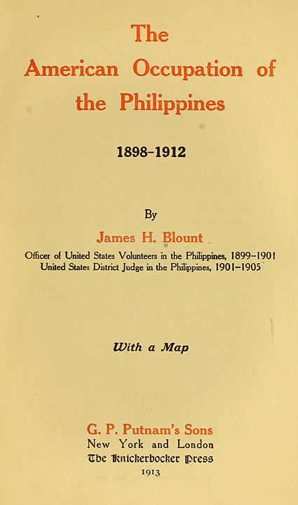 American colonization period in the philippines (1901-1935).