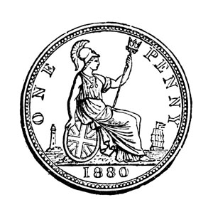 English Coins and Tokens , Barclay V  Head and Llewellynn Frederick