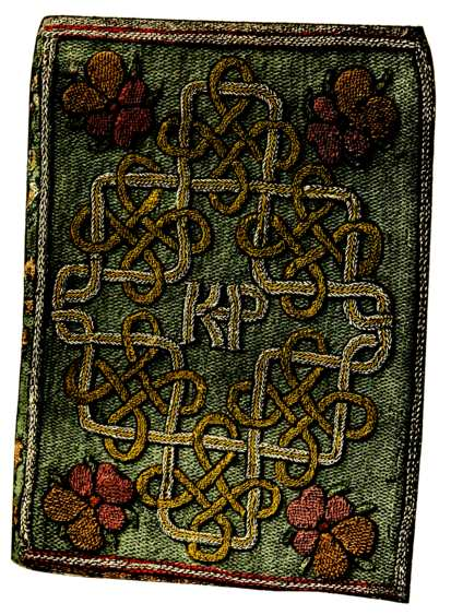 English embroidered bookbindings cyril james humphries for The miroir or glasse of the synneful soul