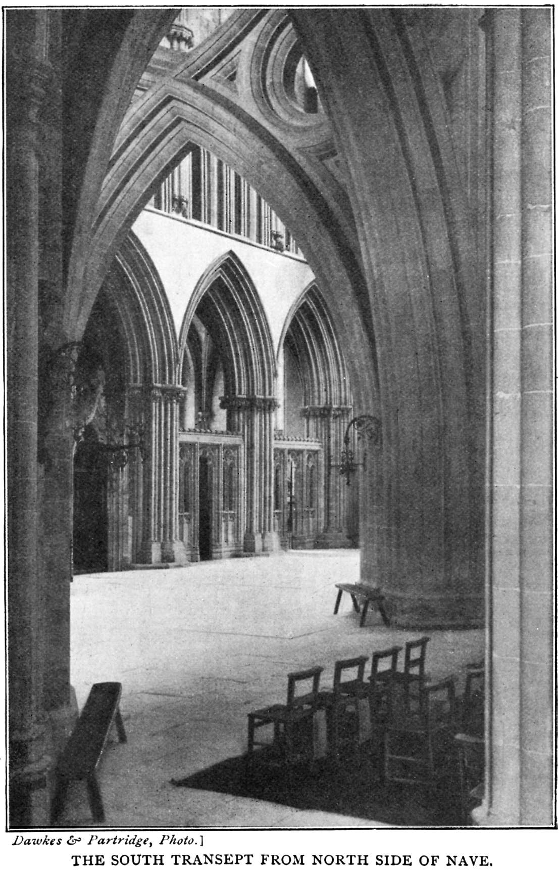Bells Cathedrals The Cathedral Church Of Wells Percy Dearmer France Rouen Diagram North Transept Stairs South From Side Nave