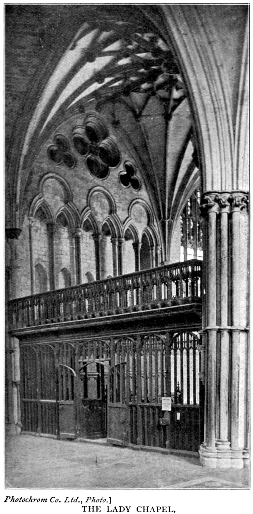 Trustful 1795 Print Gothic Ornament York Minster ~ Foliage To The Capitals North Transept Durable Modeling Antiques Art Prints