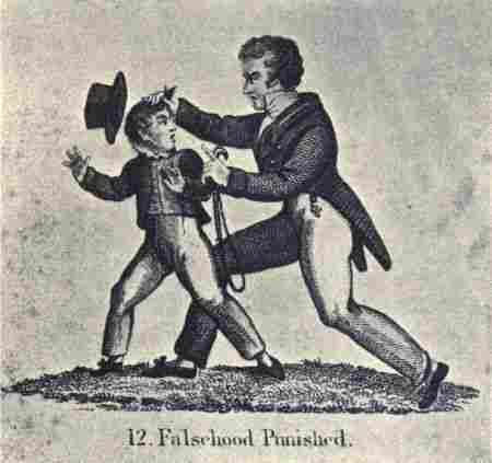 Colonial Punishments For Kids Child Life in C...