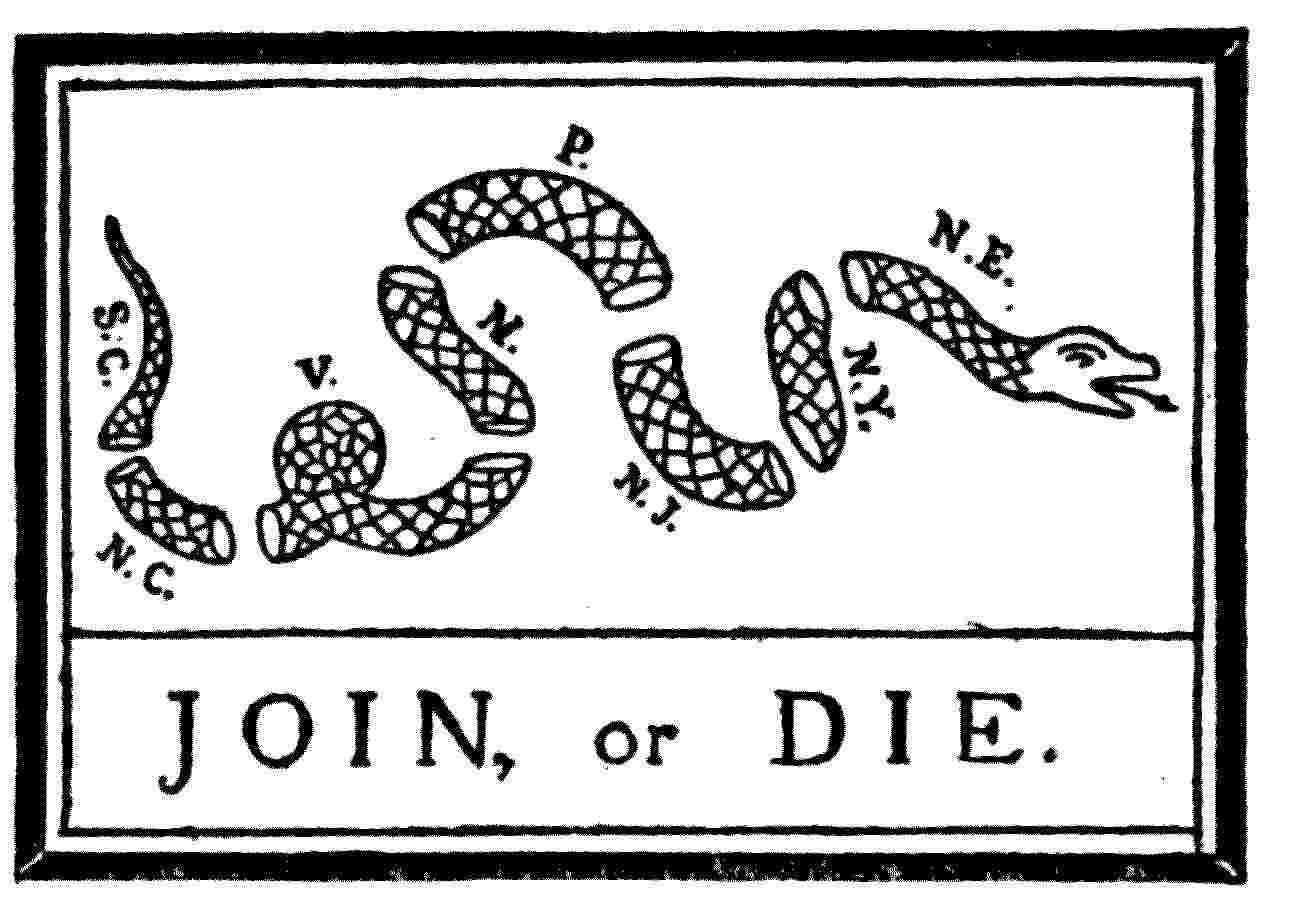 The french and indian war lessons tes teach join or die fl biocorpaavc Choice Image